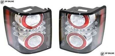Range Rover L322 Vogue 2002-2012 Rear Led Lights Pair Oem Hella Black Insert