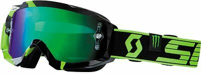 Scott USA Limited Edition Pro Circuit Monster Energy Goggles Green Chrome Lens