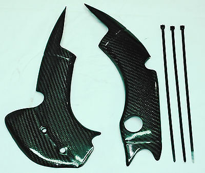 CARBON FRAME GUARDS TM Racing MX / EN 125 / 144 / 250 / 300