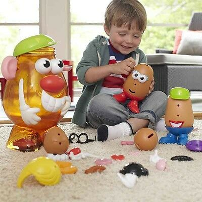 PlaySkool Mr Potato Head Container with Accessories (2+ Years)