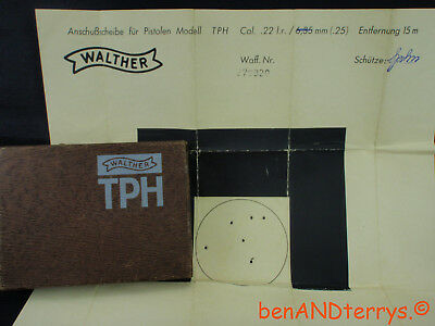 Walther TPH Factory Issued 2-Piece Original Box
