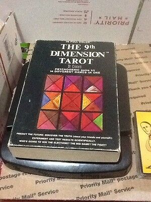 The 9th Dimension Tarot Booklet and Card Set St. Croix 1971 First Edition