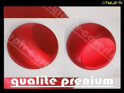 film vinyle covering alu brossé rouge 152 x 30 cm thermoformable adhesif