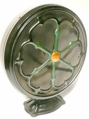 """vintage *  green ATWATER-KENT TYPE E 14"""" SPEAKER: Tested & Working .. w/ cable"""
