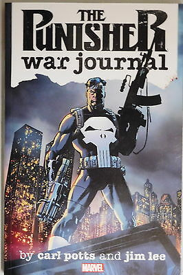 The Punisher War Journal by Carl Potts and Jim Lee trade  paperback Marvel Comic