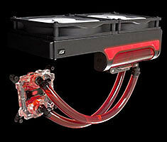NEW Swiftech H240 X2 AIO CPU Liquid Cooling System