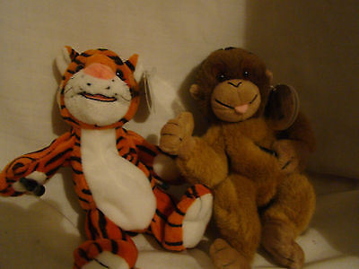 Coca Cola International Collection - Curry (Tiger) and Orany (Orangutan)  Tags