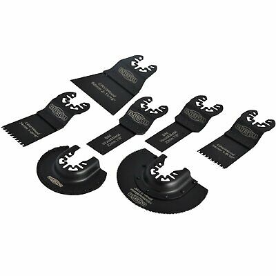 Faithfull MFKIT 7 Multi-Function Tool Blade Set 7 Piece