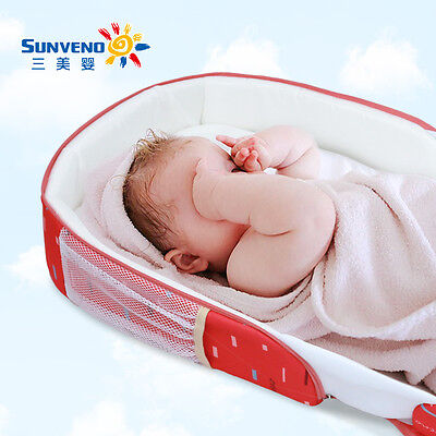 Sunveno Infant Baby Portable Crib Bed Outdoor Co-Sleepers Folding Bed Package