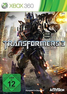Transformers 3 für XBOX 360 | NEUWARE | KOMPLETT IN DEUTSCH!