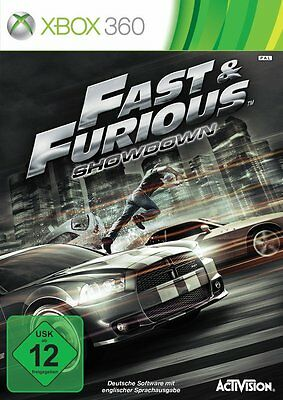 Fast and Furious - Showdown für XBOX 360 | Fast & Furious | NEUWARE | DEUTSCH