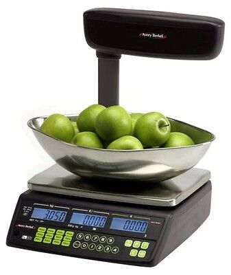 Avery Berkel FX50 Retail Shop Scale with Tower & Scoop - Easy to Use