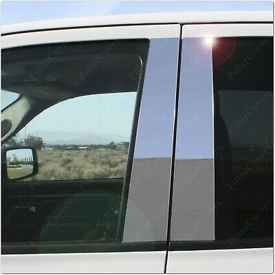 Chrome Pillar Posts for Lincoln Navigator & Ford Expedition 97-15 6pc Door Trim