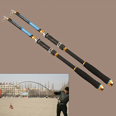 Fish Pole Equipment Telescopic Fishing Rods Carbon 2016 New Spinning Rod