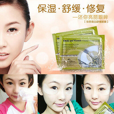 1/10/50/100Pair Anti-Wrinkle Dark Circle Gel Collagen Under Eye Patches Pad Mask