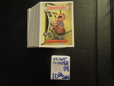 1987  87  Garbage Pail Kids GPK USA Series 10  Complete Set  88 cards Near Mint!