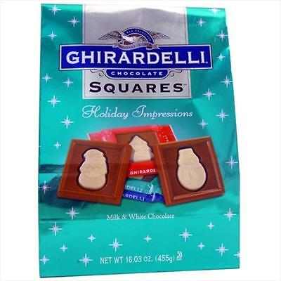 Ghirardelli 31775 Chocolate Squares Holiday Impressions, 16.03 Oz.