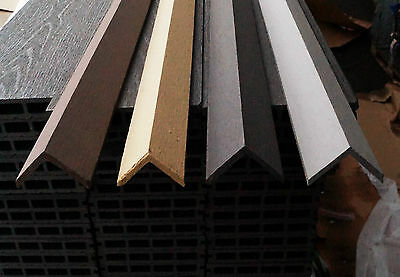 wpc decking trims available in 4 colours