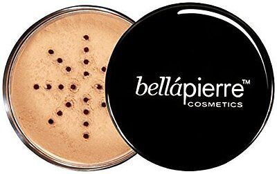Mineral Foundation, Oil free, UVA protection by Bella Pierre - Nutmeg 0.3-Ounce