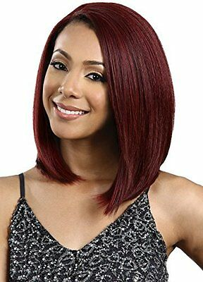 Premium Futura Synthetic Hair Lace Front Wig, Copper (1B  OFF BLK) by BOBBI BOSS