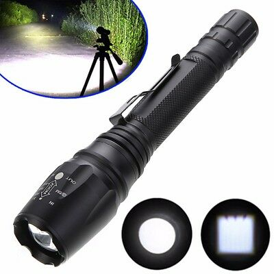 Taschenlampe Zoomable 10000LM 5Modi XML T6 LED Flashlight Torch 18650 Police