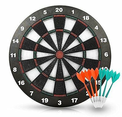 Soft Tip Safety Darts and Dart Board - Great Games for Kids BY Action Darts