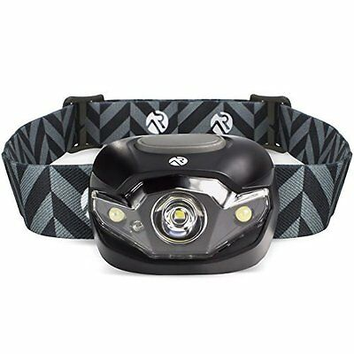 Best LED Headlamp w/ White, Strobe & Red Light Modes by Active Research