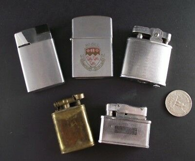 Lighter Collection ,  Military,  Champion Auer Bentley ,  Penguin  Mcgill Uni