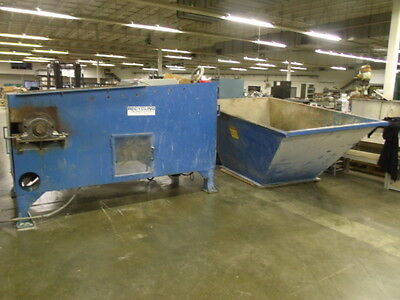 Recycling Technologies Inc. Indusrial Shredder/Grinder - Model Unknown