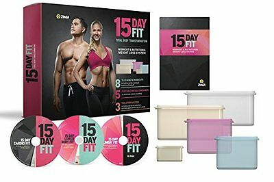 15-Day Fit DVD, Total Body Fitness and Nutrition Solution, Best Seller by Zumba