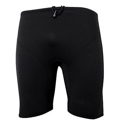 New Mens 3mm Black Neoprene Wetsuit Shorts Pants  Surf Surfing Small-2XL