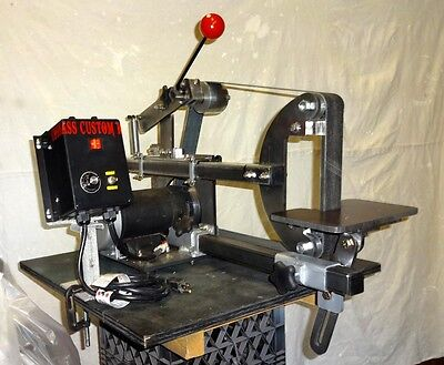 "Knife Making:15A Variable Speed 1""-2""x/60""/48""  Compact Multi Belt Sander System"