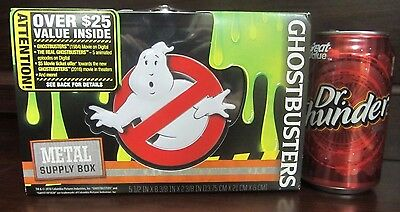NEW Ghostbusters Metal Supply Box With FREE EXTRAS INSIDE 2016 1984