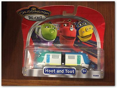 Chuggington trains Diecast trains Hoot and Toot Scale Model toy