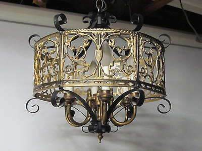 Antique Brass Chandeliers Home & Garden Chandeliers Antique Chandeliers Ex Cond.