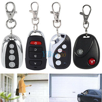 New 433mhz Electric Garage Door Wireless Transmitter Cloning Remote Control Key