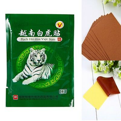 8/16/24pcs Tiger Balm Plaster Creams Pain Relief Patch Body Muscle Massager Tool