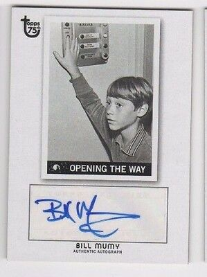 2013 Topps 75th Anniversary auto autograph Bill Mumy Lost in Space