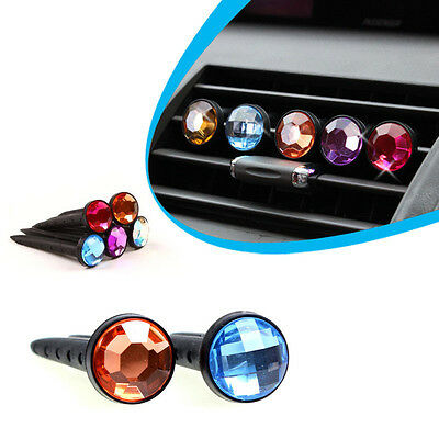 Car Air Vent Outlet Stent Diamond AirFreshener Perfume Diffuser For Car Fragranc