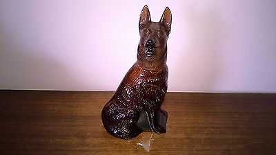 Scent/ Aftershave Bottle - German Shepherd - Avon - Alsation - Collectible - Vgc