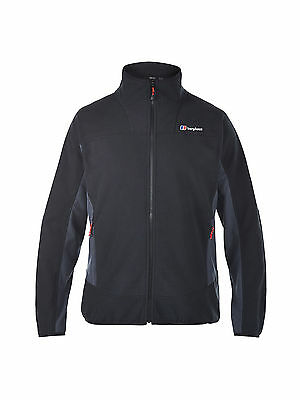 Berghaus NEW Mens Carp Fishing Outdoor Black/Grey Micro Fleece Prism Jacket