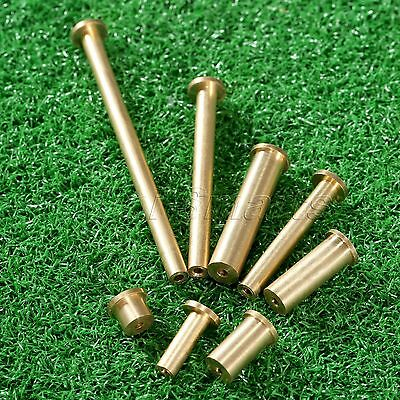 Brass Copper Golf Nail Plug Weight for .355 & .355 .370 Tip End Steel Shaft