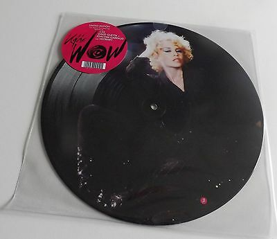 "Kylie Minogue Wow 12"" Vinyl Picture Disc New"