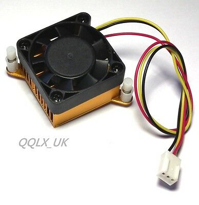 3pin Connector Computer PC VGA Graphics Video Card Heatsink Cooler Cooling Fan