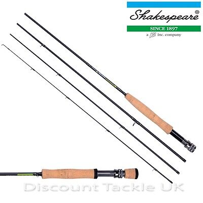 Shakespeare Sigma 4 Piece Fly Rods 7Ft - 10Ft With Hard Travel Tube