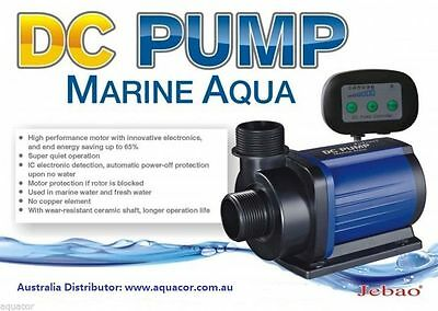 New Jebao DC 12000 L/H 85w 7 Speed DC Return Pump + AU Transformer + 1 Yr Wty