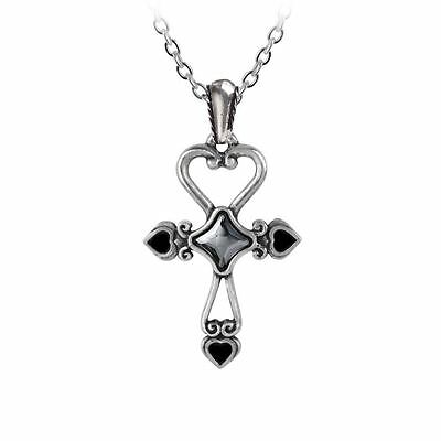 Alchemy Gothic Amourankh Pewter Necklace BRAND NEW