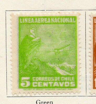 Chile 1931 Early Issue Fine Mint Hinged 5c. 097994
