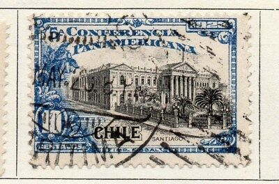 Chile 1923 Early Issue Fine Used 10c. 098020