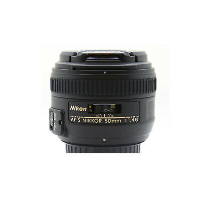 Nikon AF-S NIKKOR 50mm F/1.4G Lens with Next day UK delivery